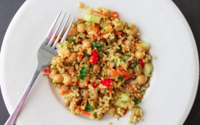 Easy & Delicious Quinoa Curry Salad